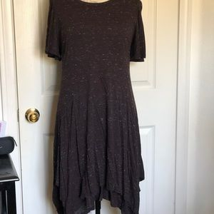 Anthropologie Purple Dress